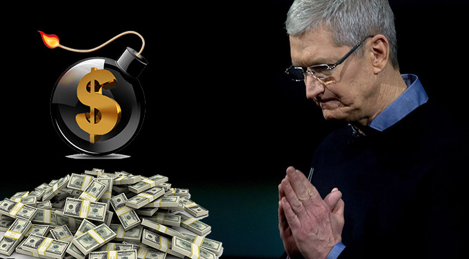Cash Holdings of Apple and Others Are At Massive Risk